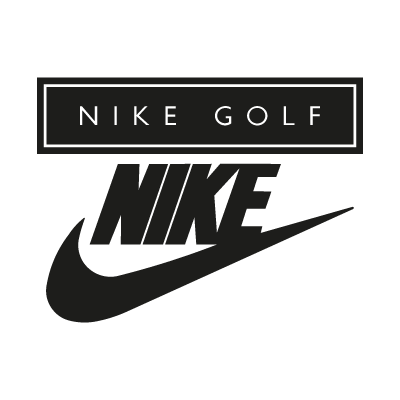 Nike Golf black logo vector logo
