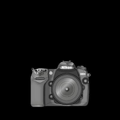 Nikon D200 logo vector logo