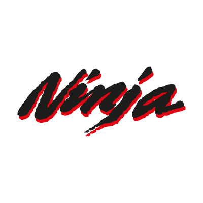 Ninja Kawasaki Old logo vector logo