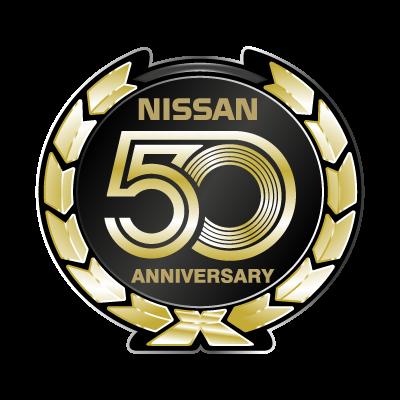 Nissan 50 Anniversary logo vector logo