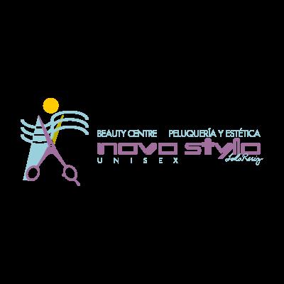 Novo stylo logo vector logo