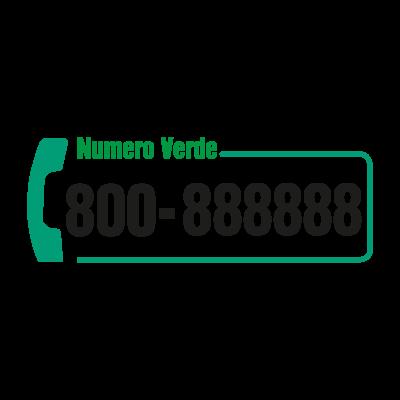 Numero Verde Telecom logo vector logo