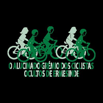 O Alucinado Gremio Dos Ciclistas logo vector logo