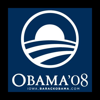 Obama 08 logo vector logo