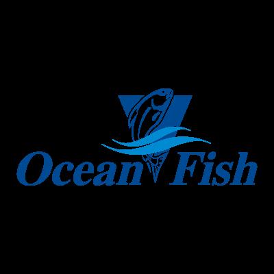 Ocean Fish logo vector logo
