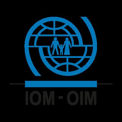 OIM-IOM logo vector logo