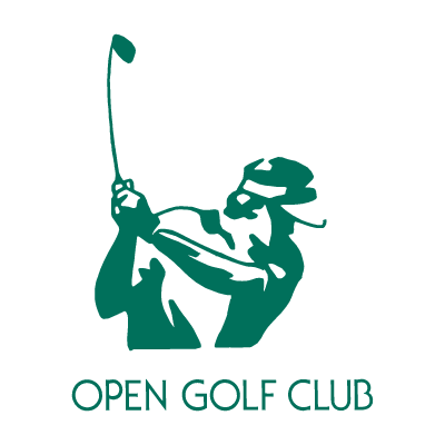 Open Golf Club logo vector logo