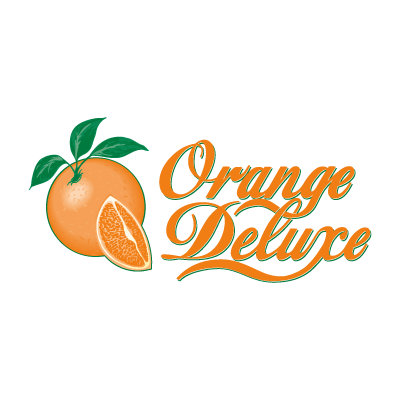 Orange Deluxe logo vector logo