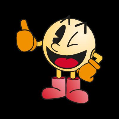Pac-Man (character) vector logo