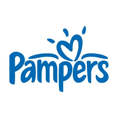 Pampers baby logo vector logo
