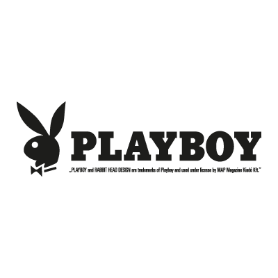 Playboy Magazine logo vector logo