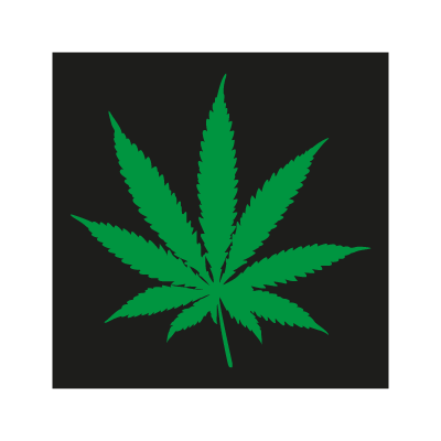Pot Leaf logo vector logo