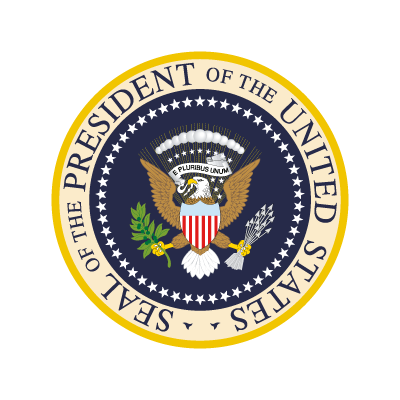 President Of The United States logo vector logo