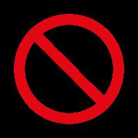 Prohibido fumar logo