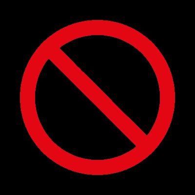 Prohibido fumar logo vector logo