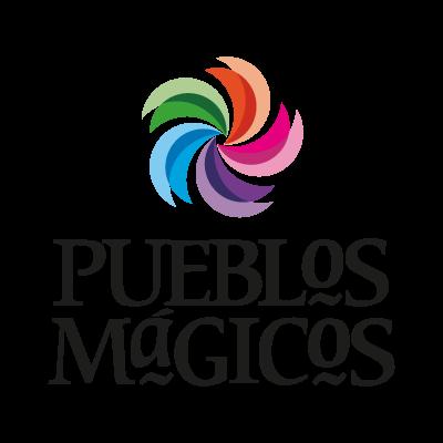 Pueblos magicos logo vector logo