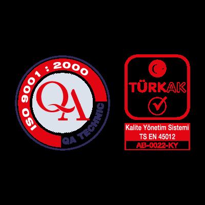 QA Technic & Turk AK logo vector logo