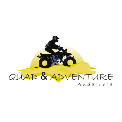 Quad & adventure logo vector logo