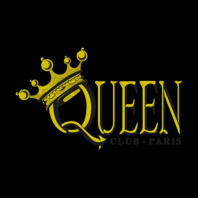 Queen Club Paris logo vector logo