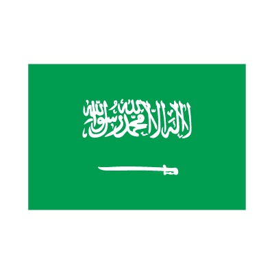 Flag of Saudi Arabia vector logo