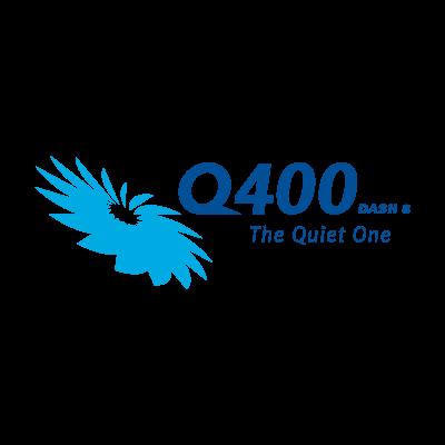Q400 Dash 8 logo vector logo