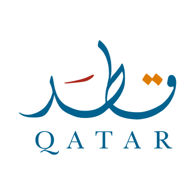 Qatar logo vector logo