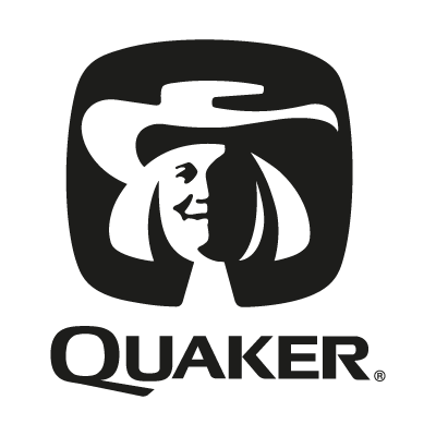 Quaker black logo vector logo