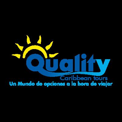 Quality Caribbean Tours logo vector logo
