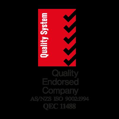Quality Endorsed logo vector logo