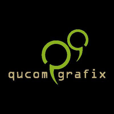 Qucom Grafix logo vector logo