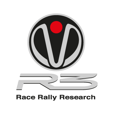 R3 Race Rally Research logo vector logo