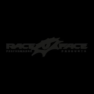 Race Face (black) logo vector logo