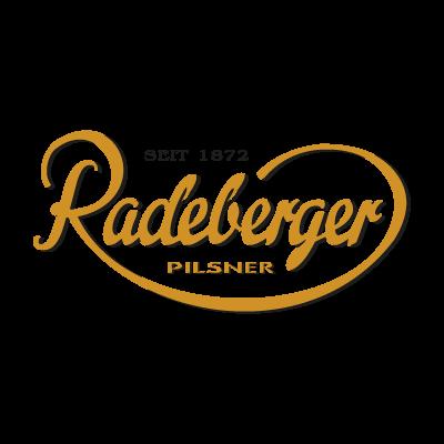 Radeberger logo vector logo