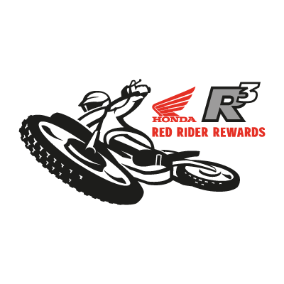 Red Rider Rewards logo vector logo