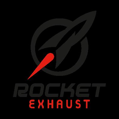 Rocket Exhaust logo vector logo