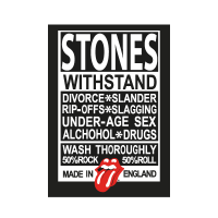 Rolling Stones Made in England logo