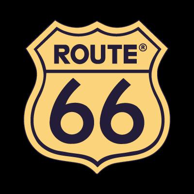 Route 66 logo vector logo