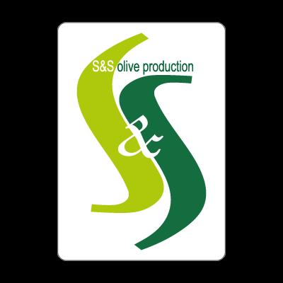S & S olives logo vector logo