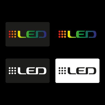 Samsung LED logo vector logo