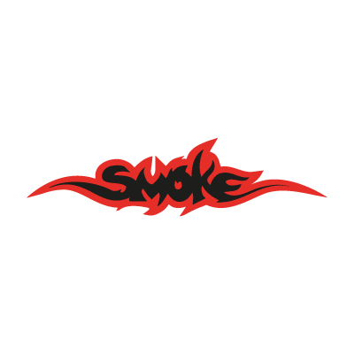 Smoke logo vector logo