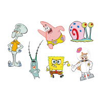 Spongebob Squarepants cartoon vector