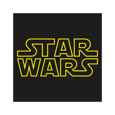 Star Wars logo vector logo