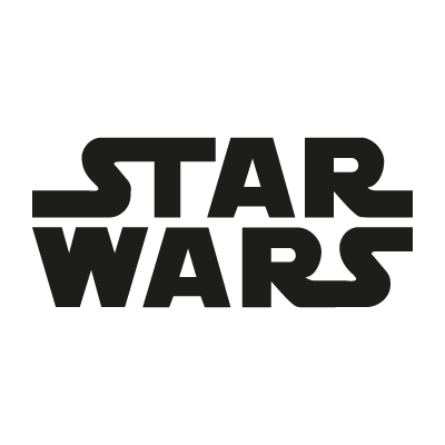 Star Wars film logo vector
