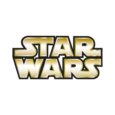 Star Wars Gold logo vector logo