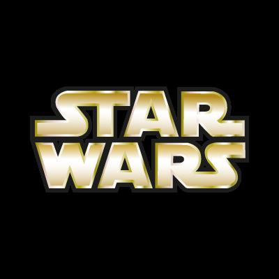 Star Wars Gold logo vector logo