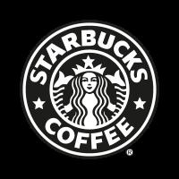 Starbucks Coffee black logo