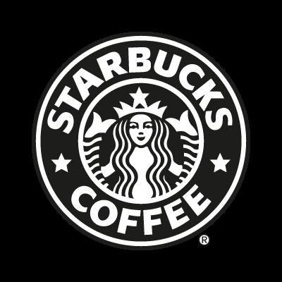 Starbucks Coffee black logo vector logo