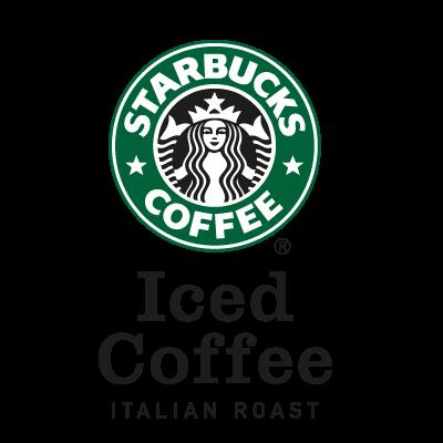 Starbuck's Iced Coffee logo vector logo