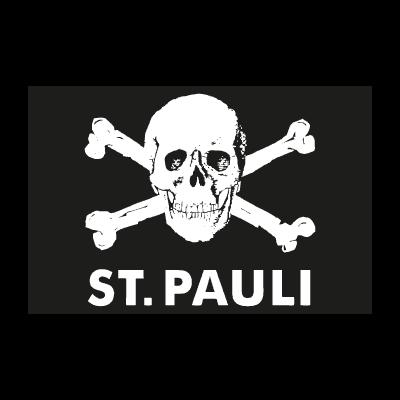 St.pauli totenkopf logo vector logo