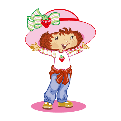 Strawberry shortcake vector logo